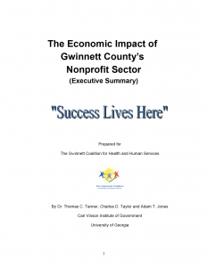 Economic Impact - Executive Report Cover
