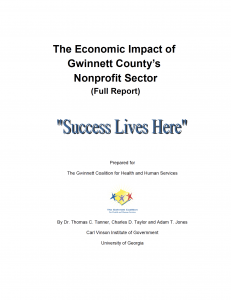 Economic Impact - Full Report Cover