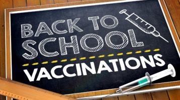 Back-To-School Immunizations Affect Health, Law and School