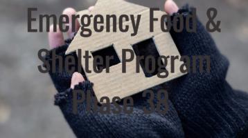 Emergency Food & Shelter Program Phase 38