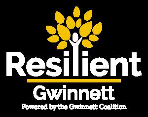 Resilient Gwinnett Logo - White