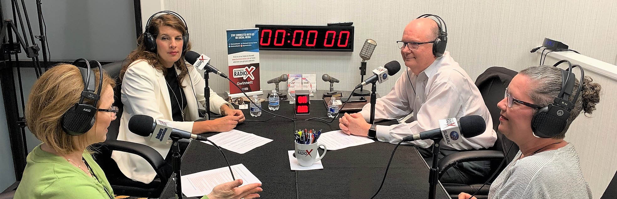 In-studio Podcast Recoriding